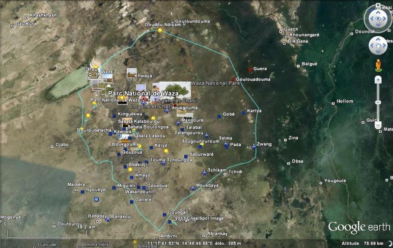 Parc National de Waza Cameroun Ge_waz10