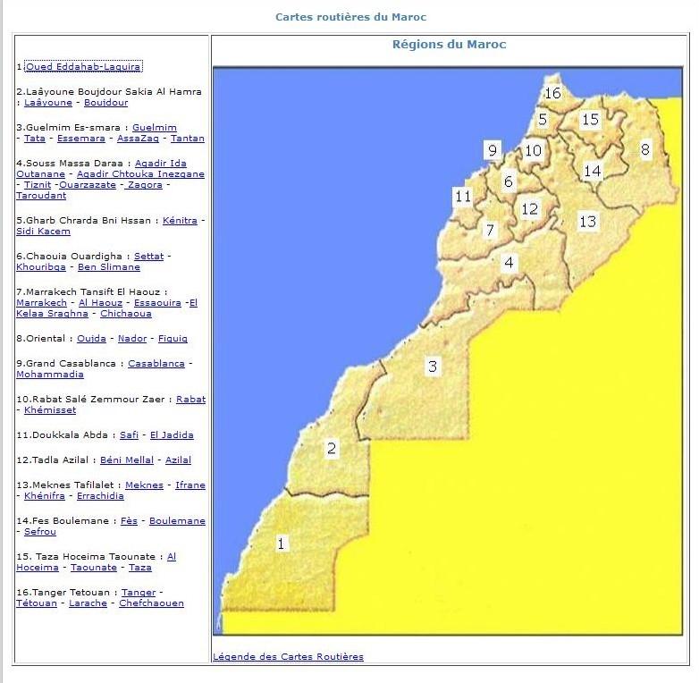Services de cartographie en ligne : lequel choisir ? - Page 17 Maroc10