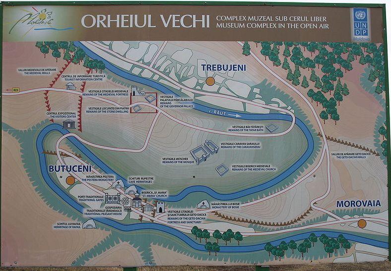 Orheiul Vechi (ensemble monastique) - Moldavie Orve_p10