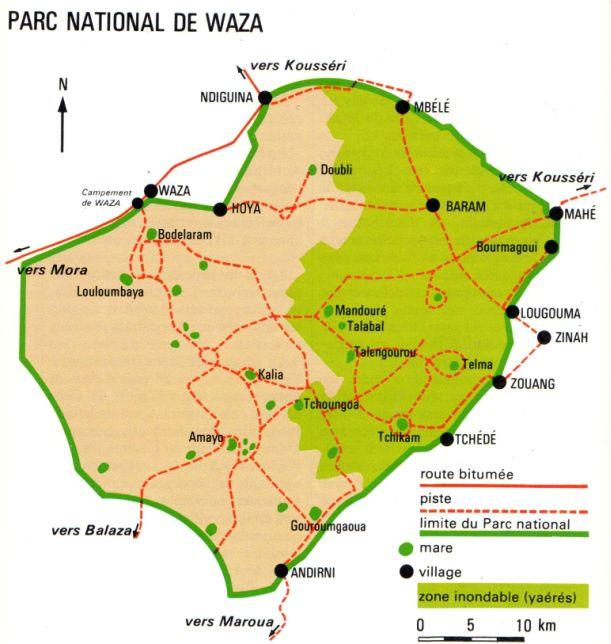 Parc National de Waza Cameroun Parc_d10