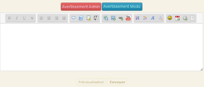Bouton Avertissement Rapide pour Modo et Admin Bouton14