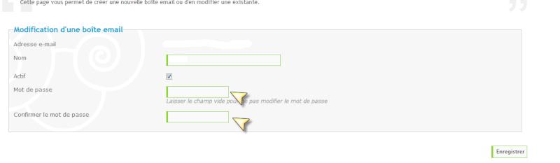 Création d'une boite email personnalisée Modifi10