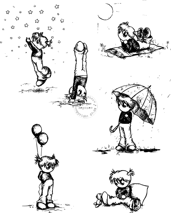 {scraposphere} Tampons enfant (by shiranui) Enfant10
