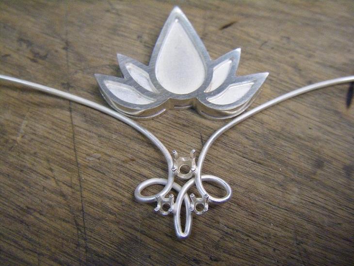 Fleur de lotus Bijout11