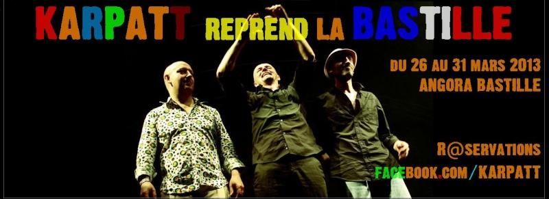 Nouveaux concerts parisiens : du 26 au 31 mars à l'ANGORA BASTILLE 26205910
