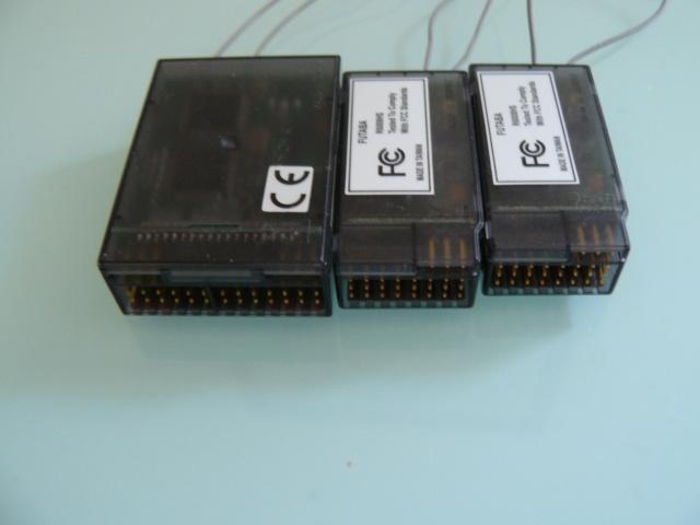 Recepteurs Futaba R6014FS et R6008HS P1320914
