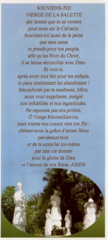 Neuvaine et chapelet à Notre Dame de la Salette du 11 au 19 septembre Peleri10
