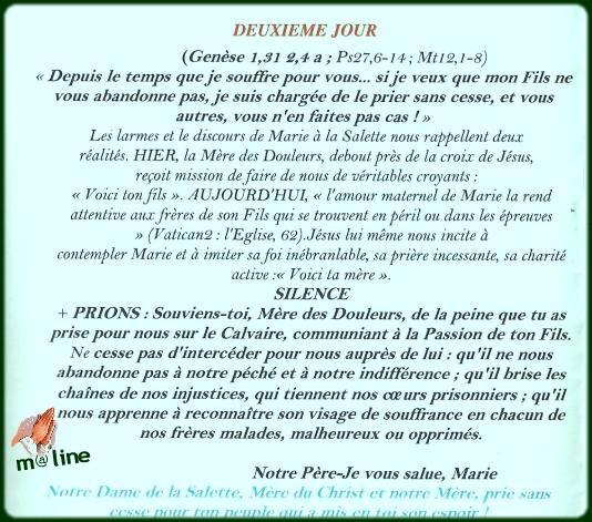 Neuvaine et chapelet à Notre Dame de la Salette du 11 au 19 septembre Salett10