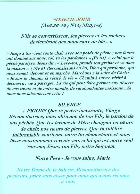 Neuvaine et chapelet à Notre Dame de la Salette du 11 au 19 septembre Salett15