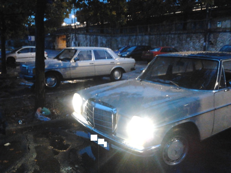 MERCEDES 220D ANNEE 1972 COLLECTIONS 2013-033