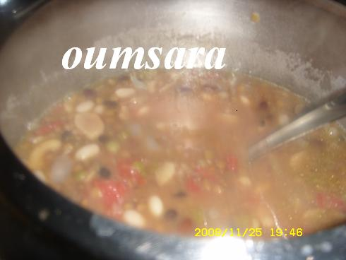 Bissara marocaine aux multiples légumineuses! Soupe310