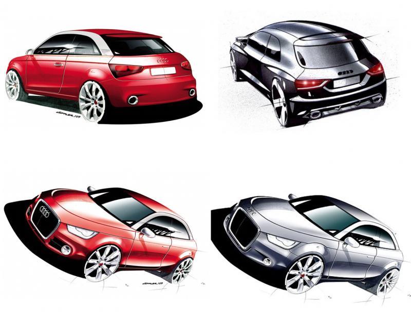 [Présentation] Le design par Audi Compar10