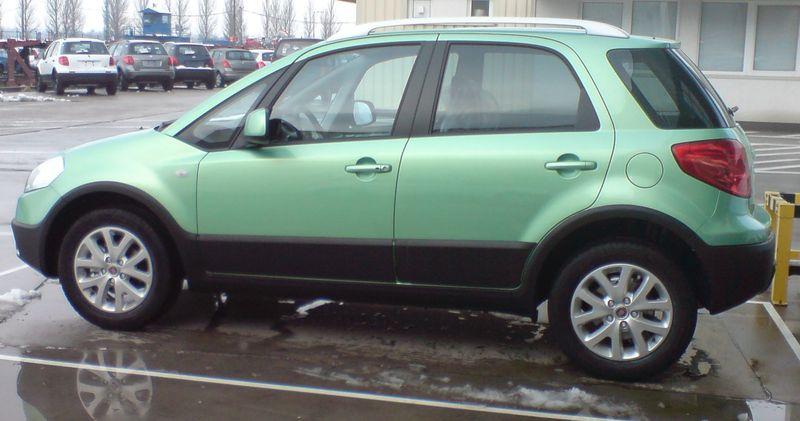 2009 - [Fiat/Suzuki] Sedici/SX4 restylés Fiatse10