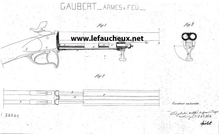 petite carabine Gaubert signée Lefaucheux 1_copi12