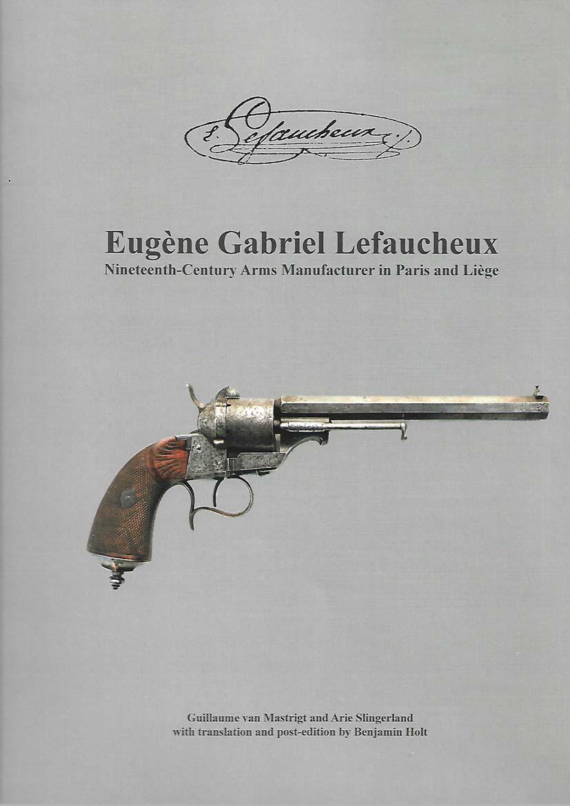 Revolver LEFAUCHEUX à broche (C'est un 1854  après identication)  A12