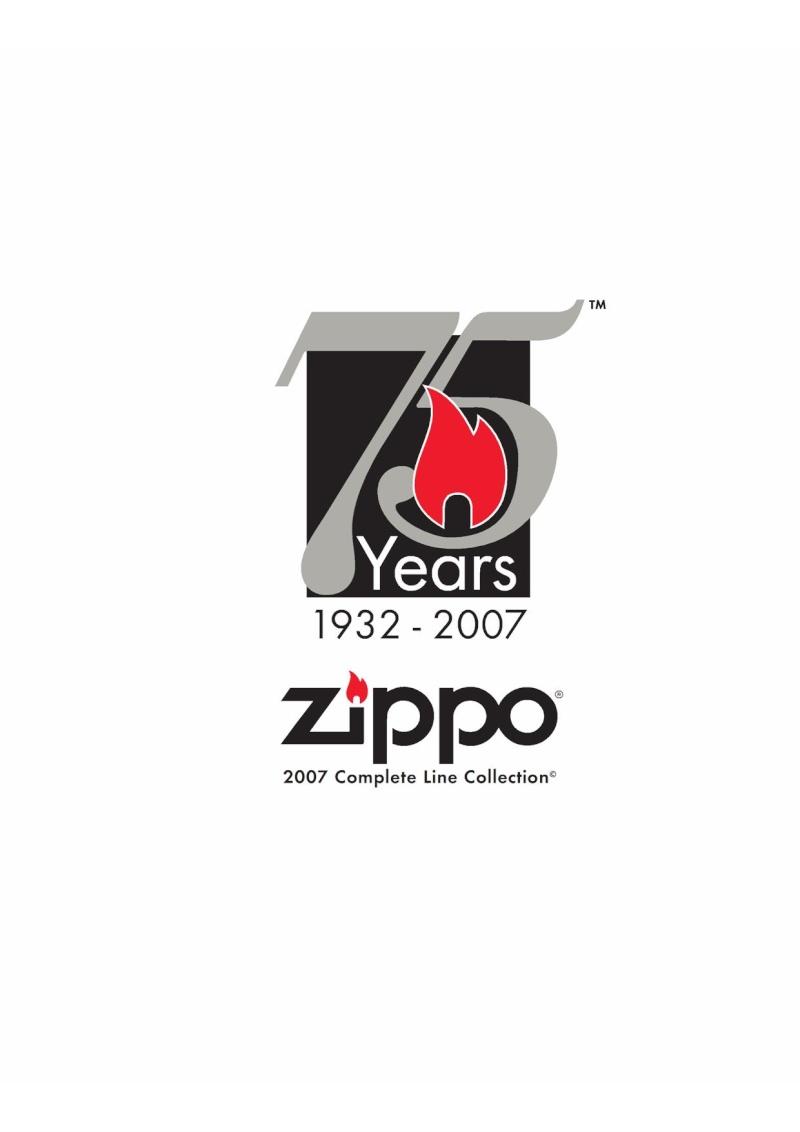 Catalogue ZIPPO 2007 Complete line (version américaine) 010