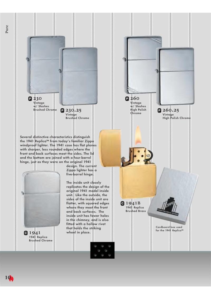 Catalogue ZIPPO 2007 Complete line (version américaine) 1018
