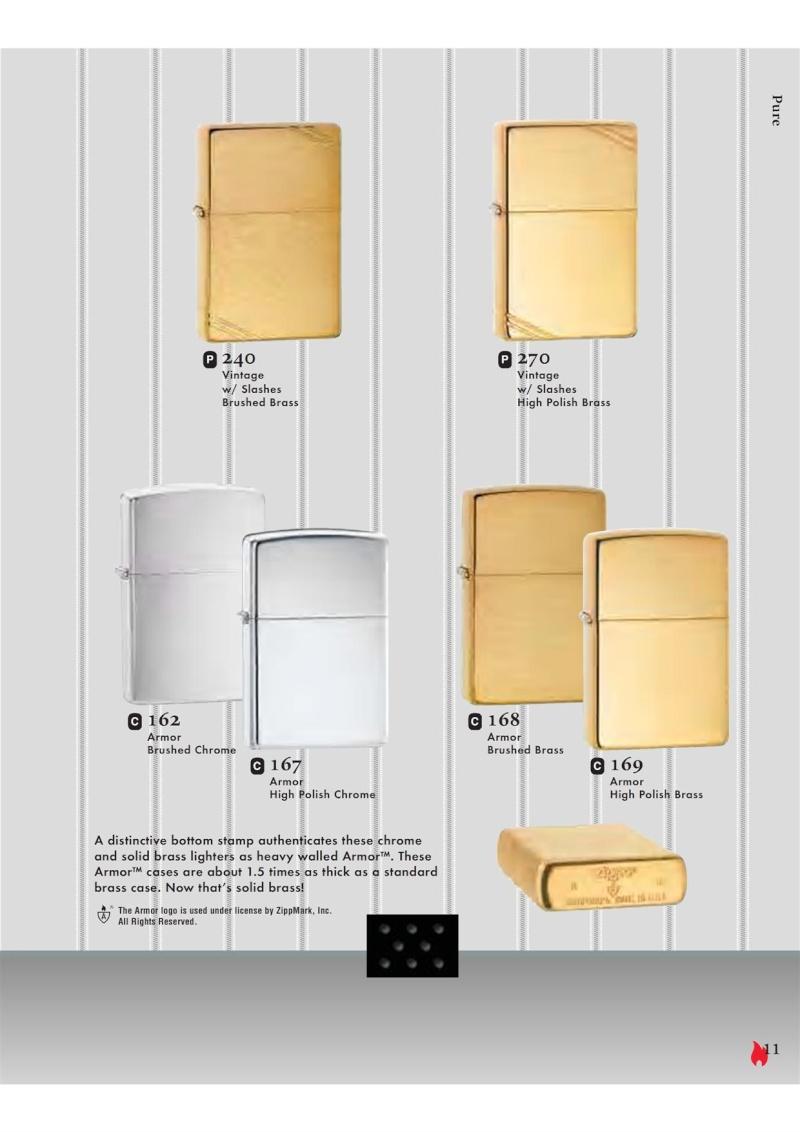 Catalogue ZIPPO 2007 Complete line (version américaine) 1116