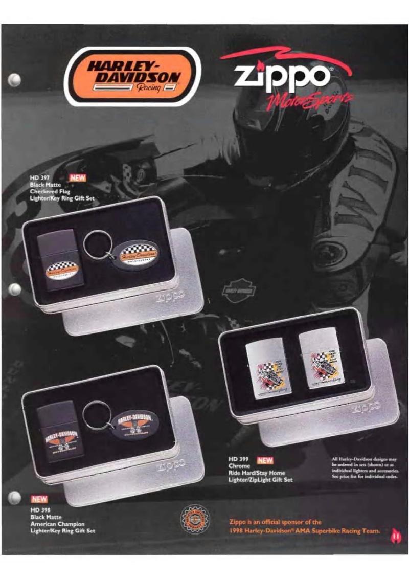 Harley Davidson Collection 1998 (version US) 1118