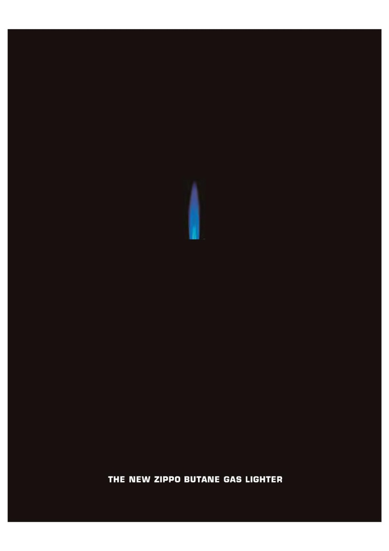 2007 ZippoBLU Butane Gas Lighter Catalog 117