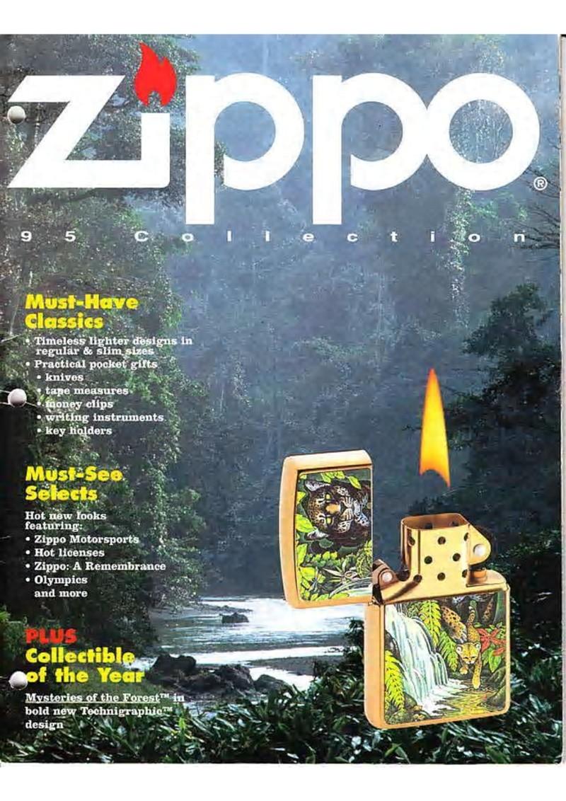 Catalogue ZIPPO Collection 1995 (version américaine) 118