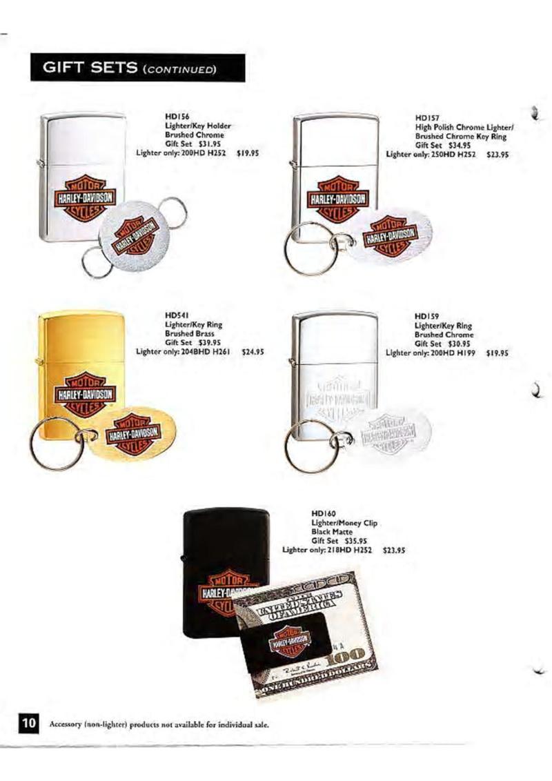 Harley Davidson Collection 1999 (version US) 1210