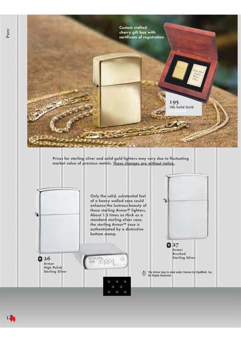 Catalogue ZIPPO 2007 Complete line (version américaine) 1216