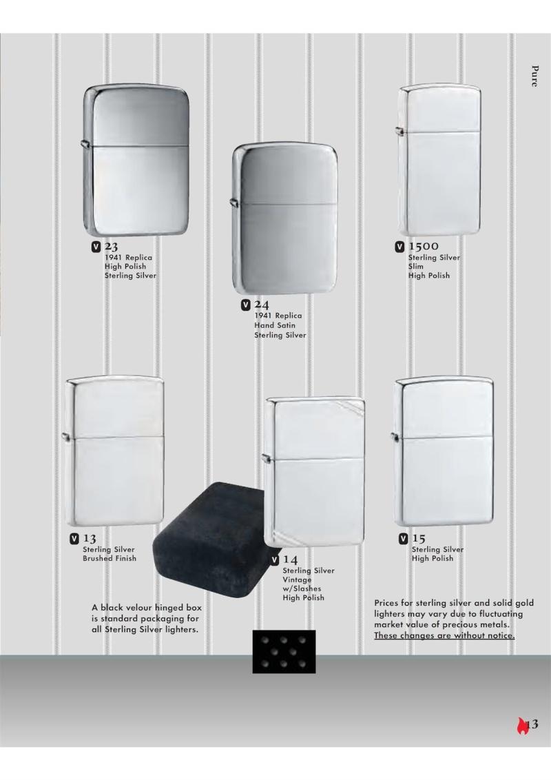 Catalogue ZIPPO 2007 Complete line (version américaine) 1314
