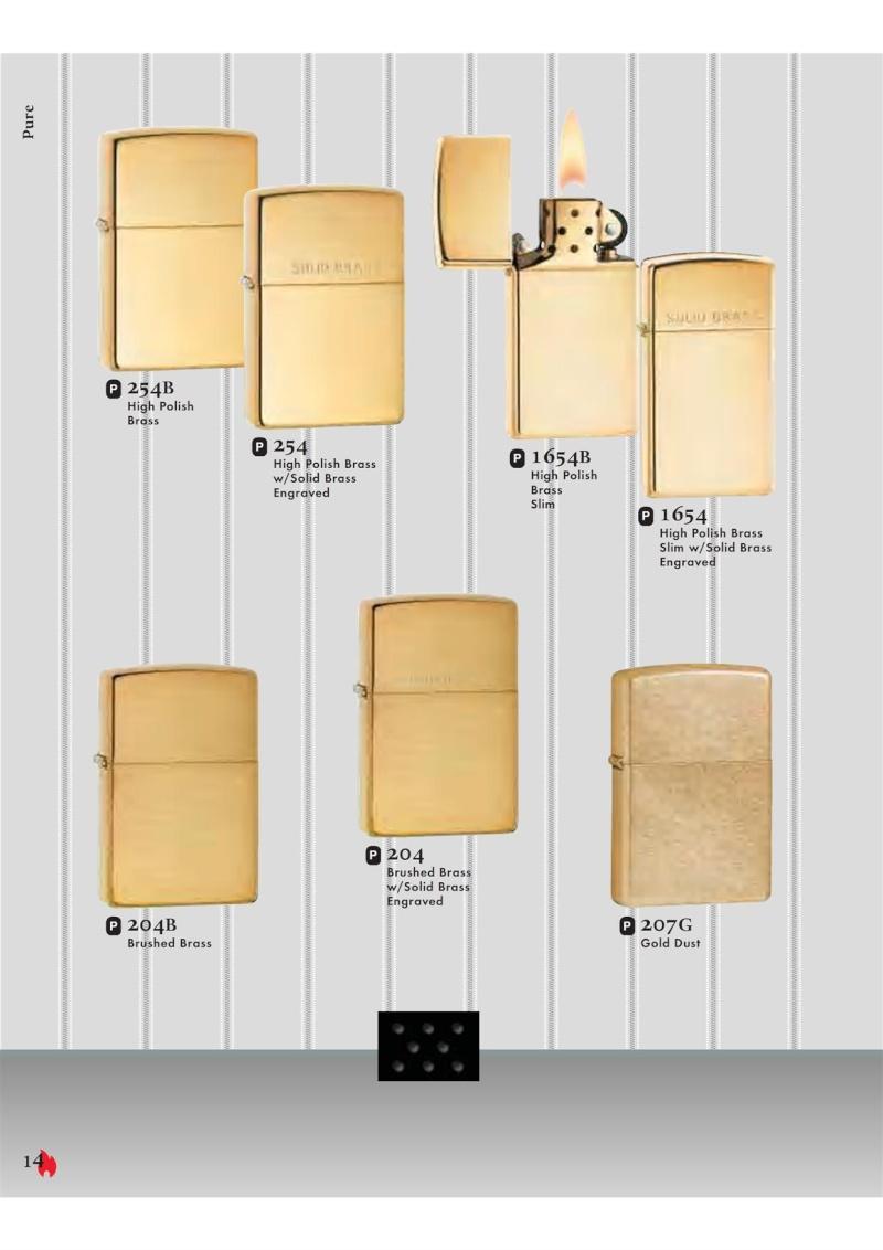 Catalogue ZIPPO 2007 Complete line (version américaine) 1413
