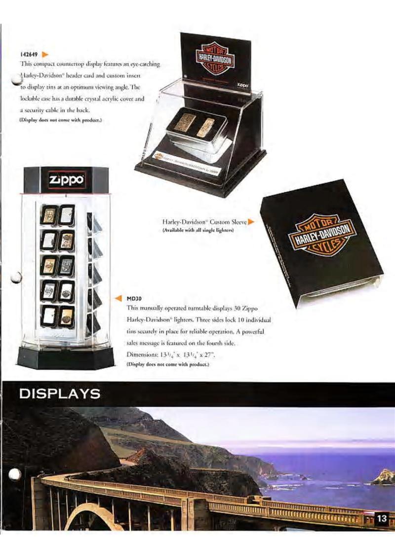 Harley Davidson Collection 1999 (version US) 1510