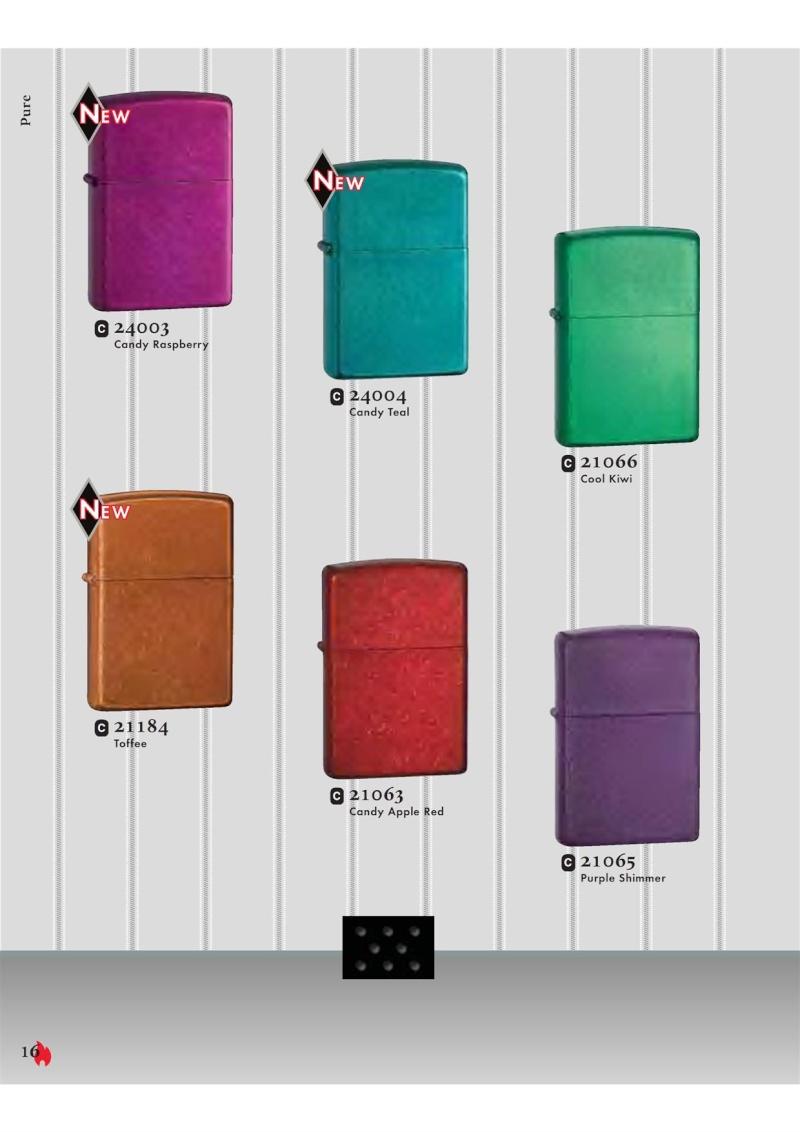 Catalogue ZIPPO 2007 Complete line (version américaine) 1613