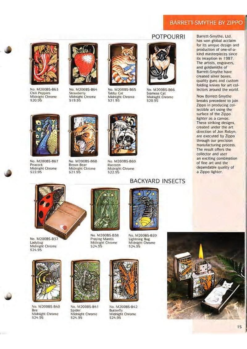 Catalogue ZIPPO Collection 1995 (version américaine) 1710