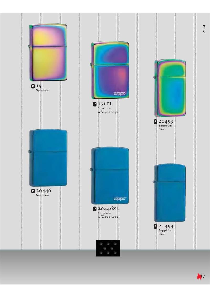 Catalogue ZIPPO 2007 Complete line (version américaine) 1712