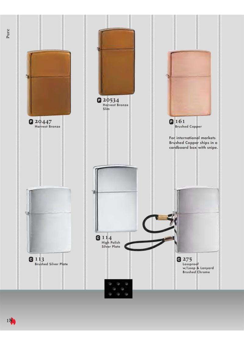 Catalogue ZIPPO 2007 Complete line (version américaine) 1812
