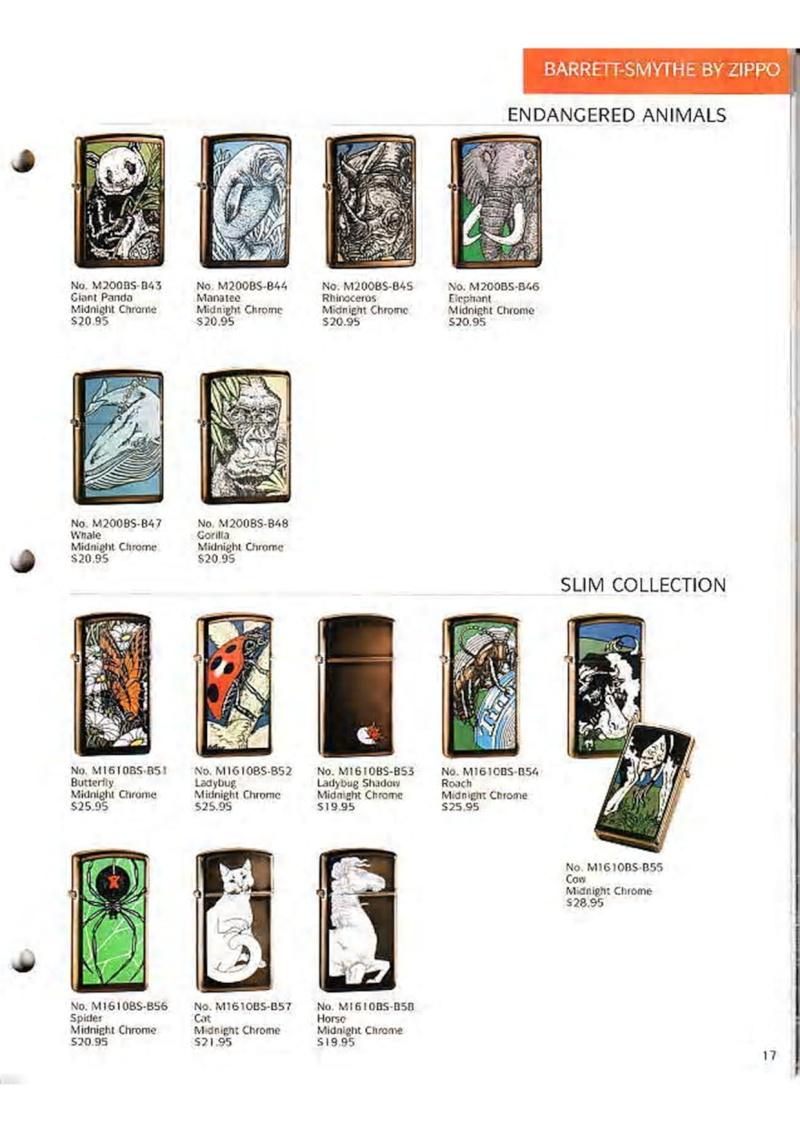 Catalogue ZIPPO Collection 1995 (version américaine) 1910