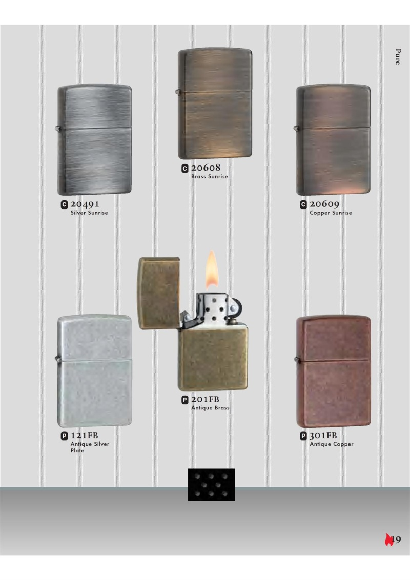 Catalogue ZIPPO 2007 Complete line (version américaine) 1912