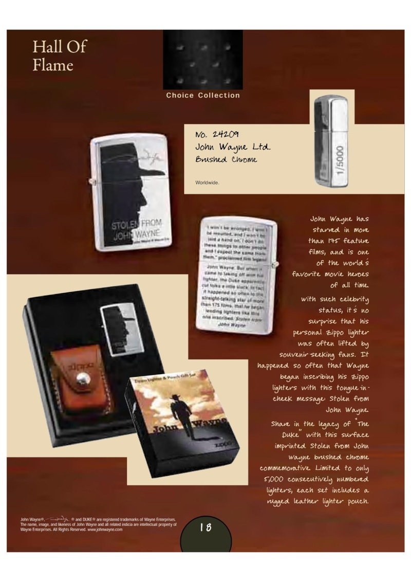 Catalogue Zippo 2007_08 Choice Anniversary Edition 2111
