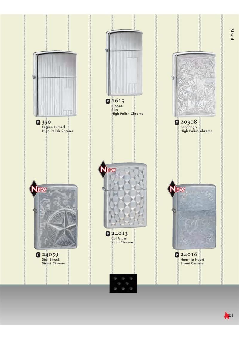 Catalogue ZIPPO 2007 Complete line (version américaine) 2112