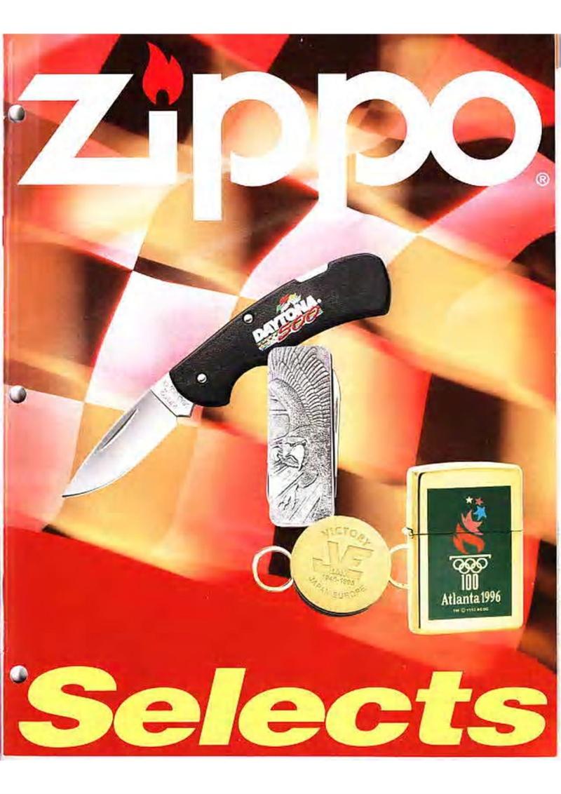 Catalogue ZIPPO Collection 1995 (version américaine) 2310