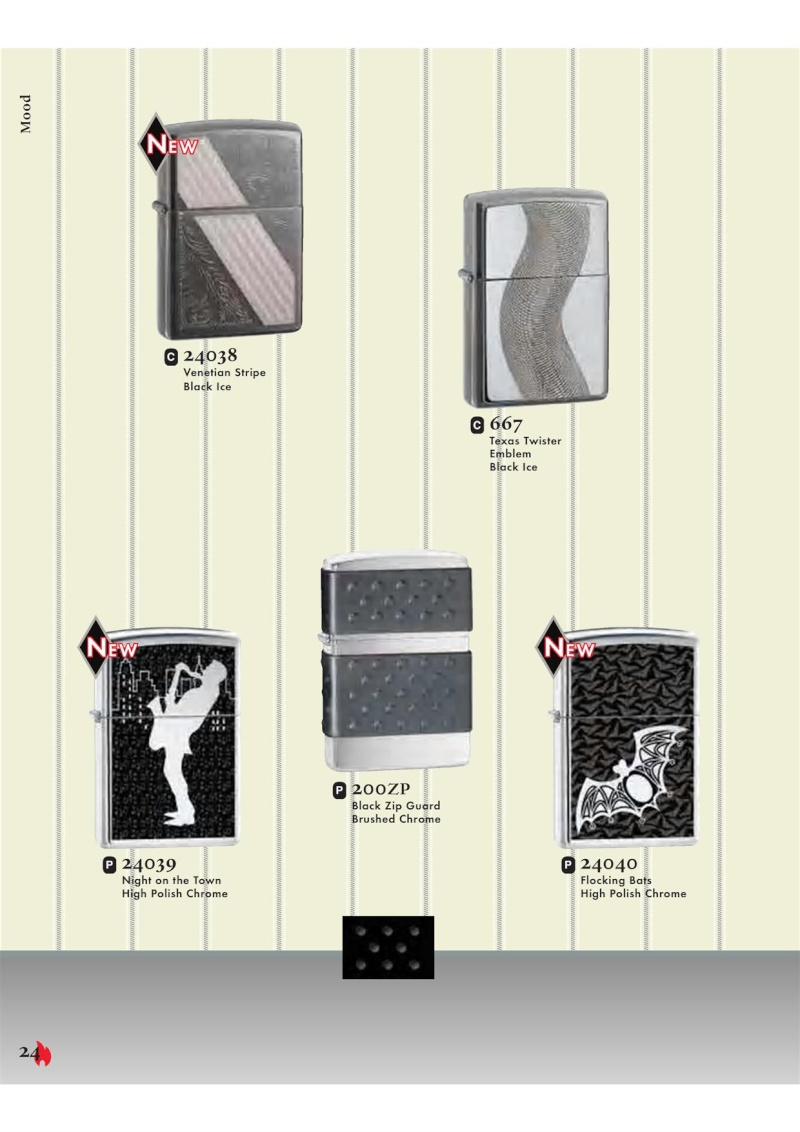 Catalogue ZIPPO 2007 Complete line (version américaine) 2412
