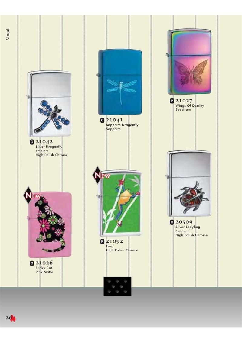 Catalogue ZIPPO 2007 Complete line (version américaine) 2612