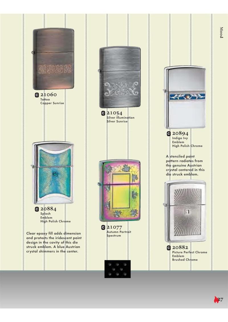 Catalogue ZIPPO 2007 Complete line (version américaine) 2712