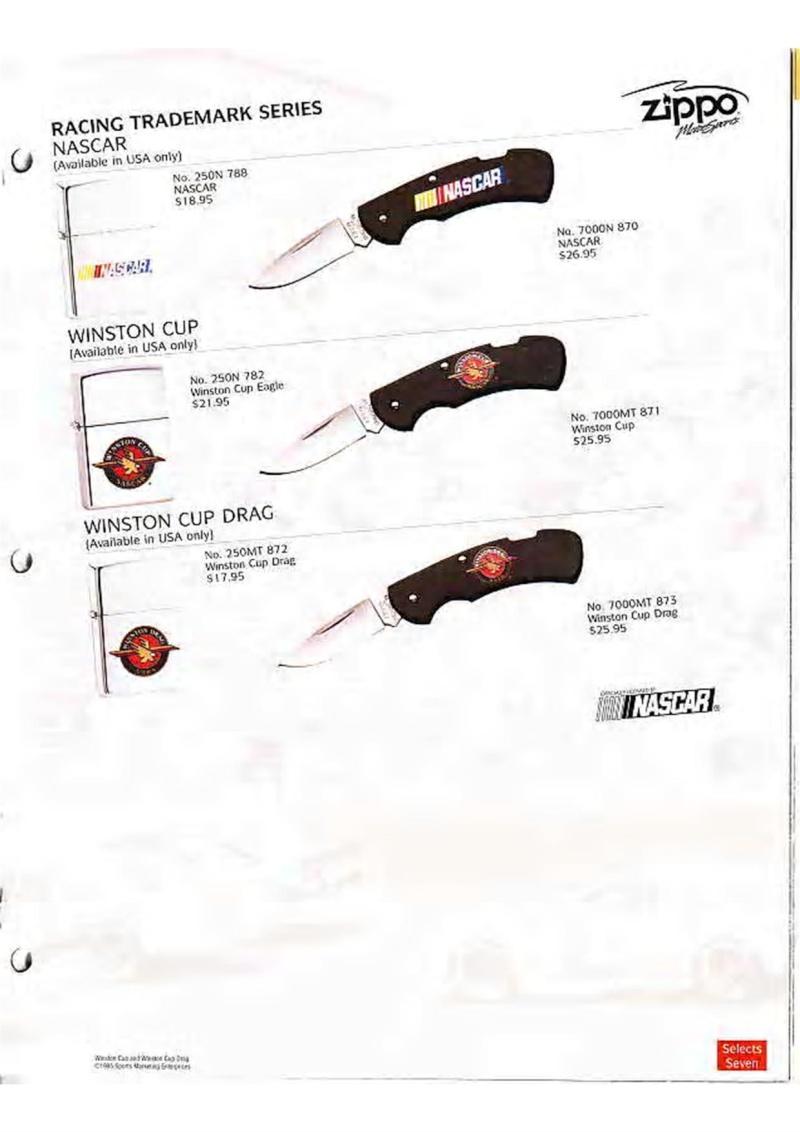 Catalogue ZIPPO Collection 1995 (version américaine) 2910