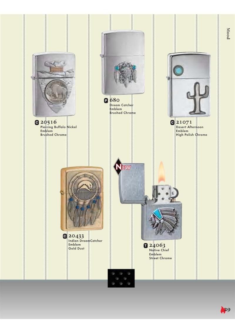Catalogue ZIPPO 2007 Complete line (version américaine) 2912