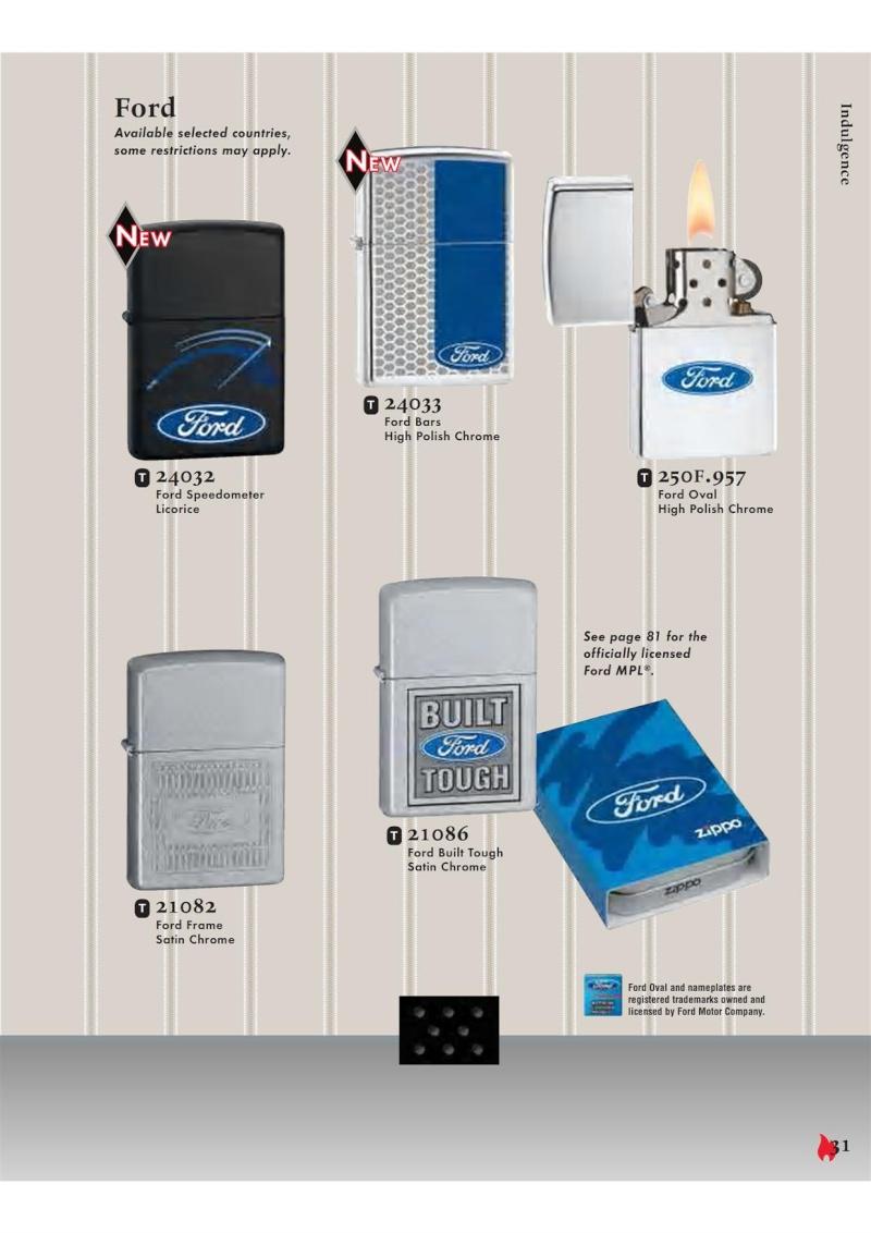 Catalogue ZIPPO 2007 Complete line (version américaine) 3112