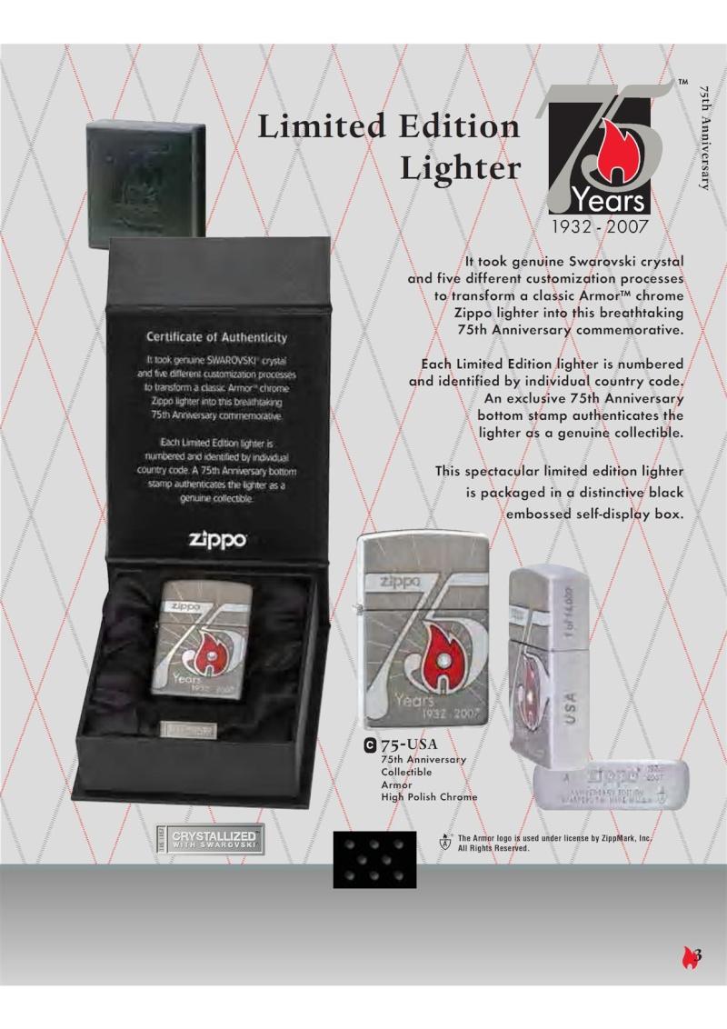 Catalogue ZIPPO 2007 Complete line (version américaine) 320