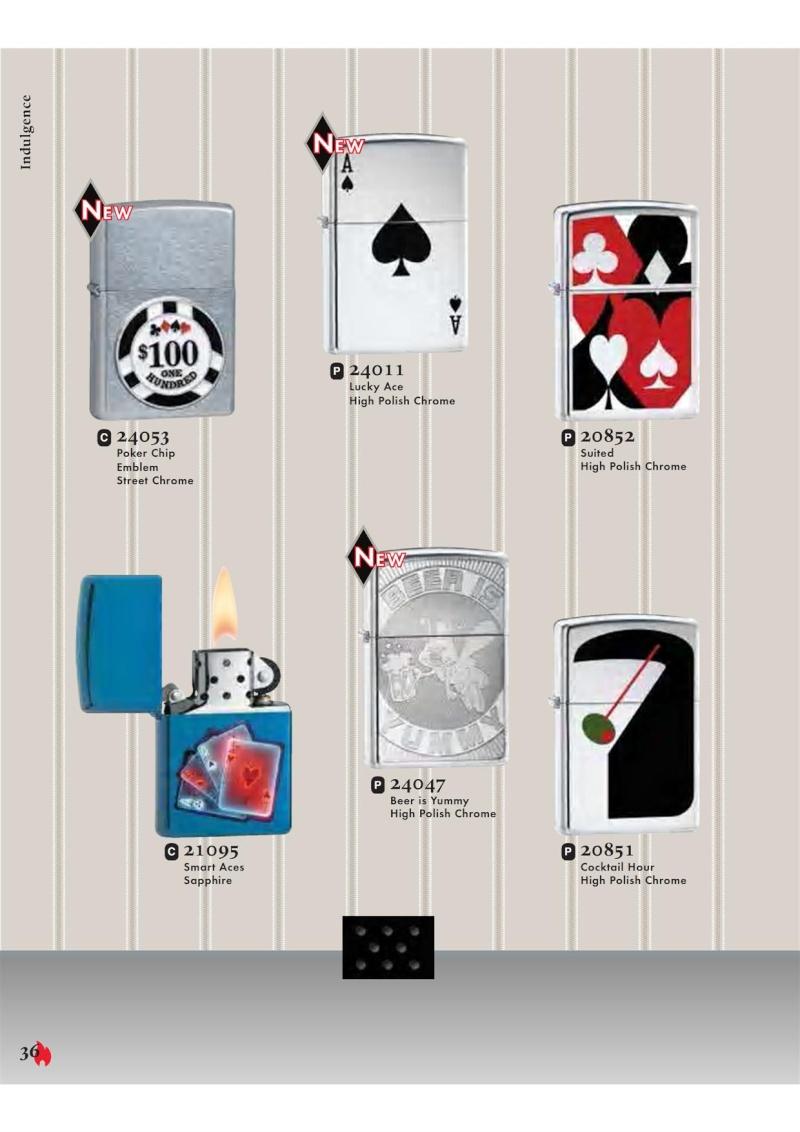 Catalogue ZIPPO 2007 Complete line (version américaine) 3611