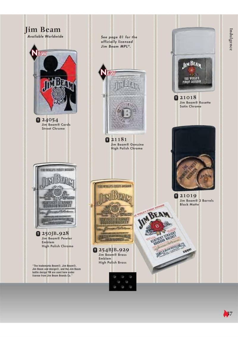 Catalogue ZIPPO 2007 Complete line (version américaine) 3711