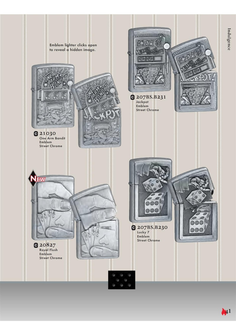 Catalogue ZIPPO 2007 Complete line (version américaine) 4111