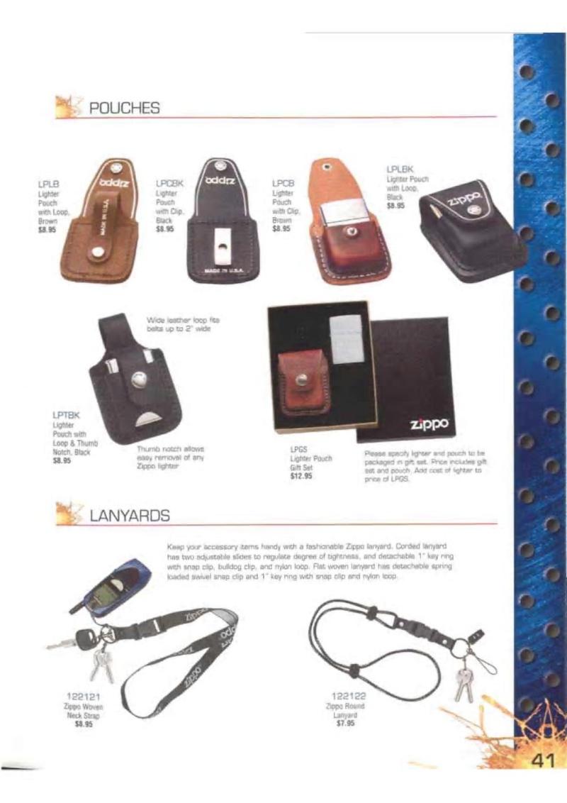 Catalogue ZIPPO 2003 Complete line (version américaine) 4113